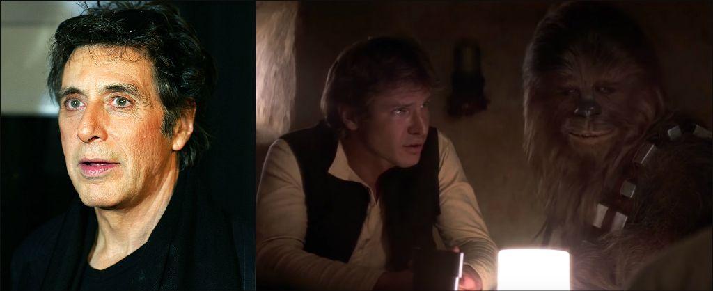"""Ал Пачино / Харисън Форд в ролята на Хан Соло – """"Междузвездни войни"""""""