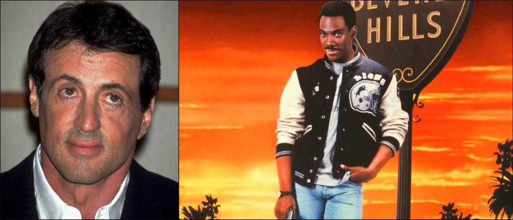 """Силвестър Сталоун /  Еди Мърфи в ролята на Аксел Фоули - """"Ченгето от Бевърли Хилс"""""""