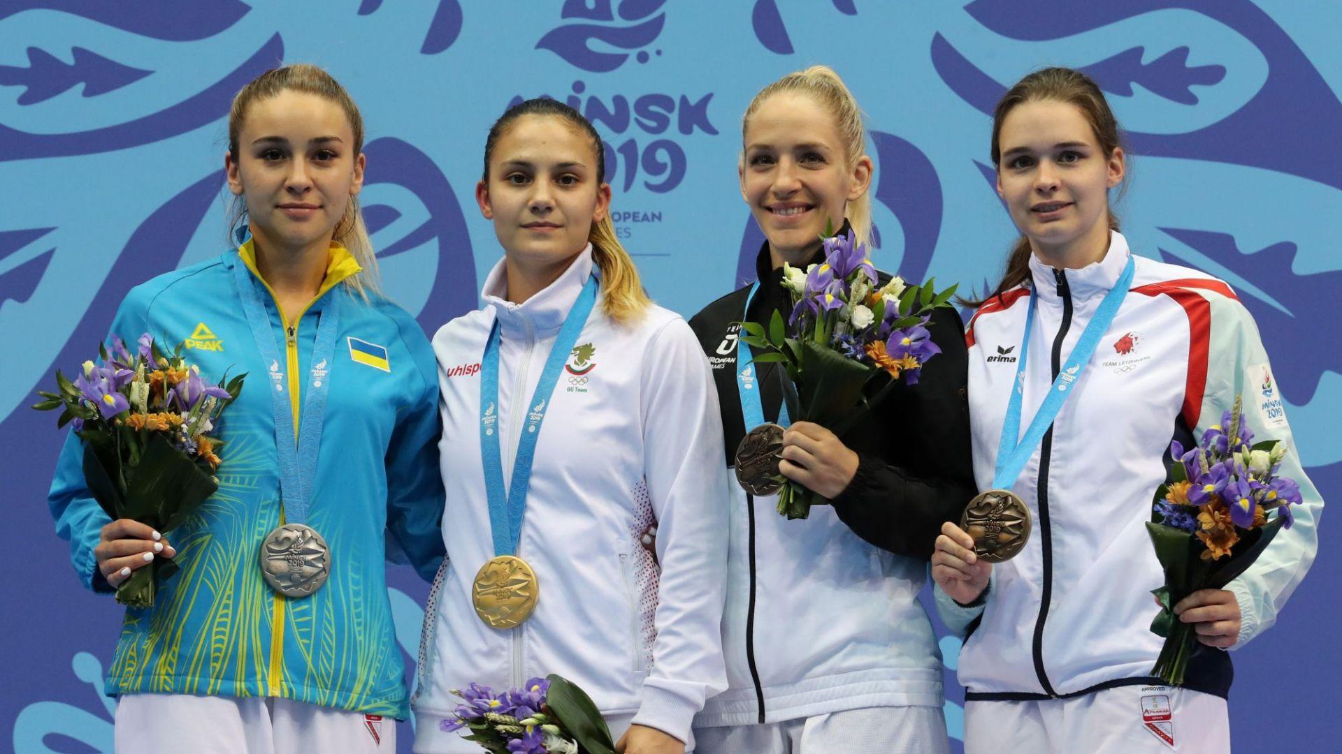 Ивет Горанова донесе трета титла на България от Игрите в Минск