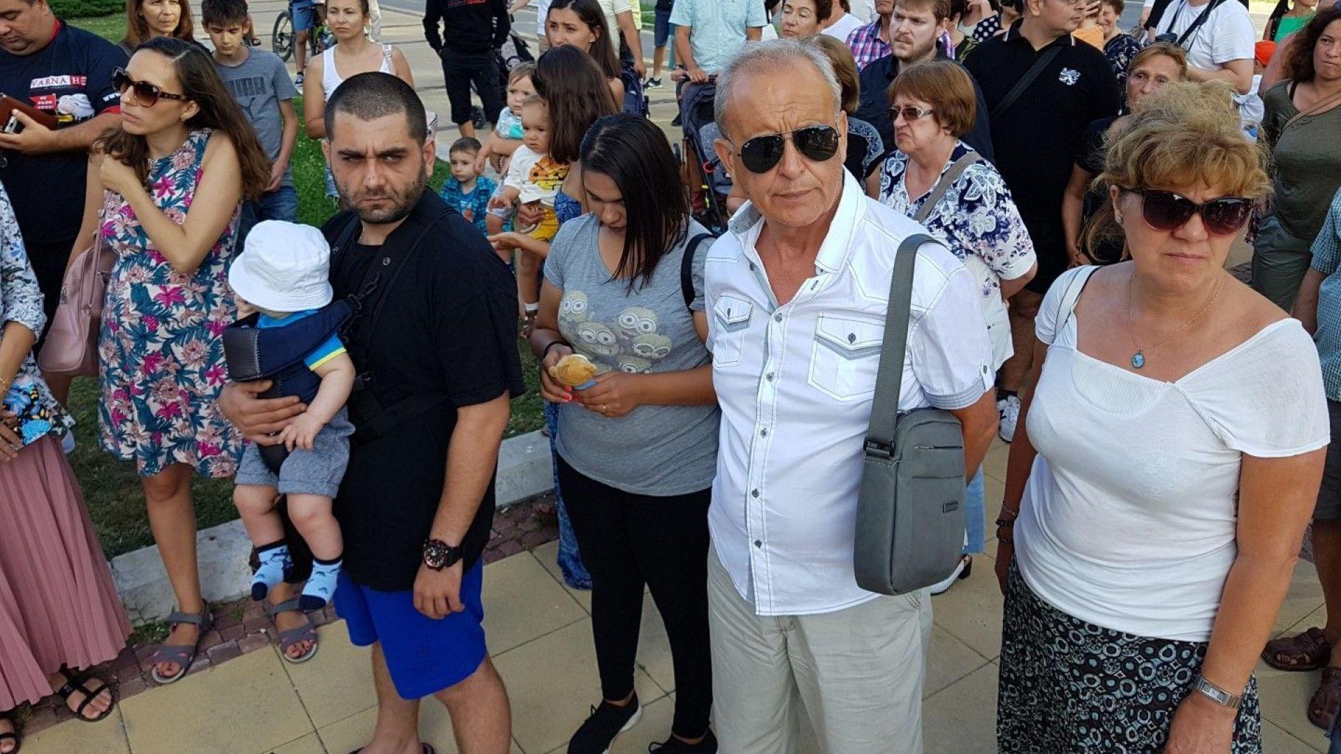 Варненци протестираха заради убитото от кола дете