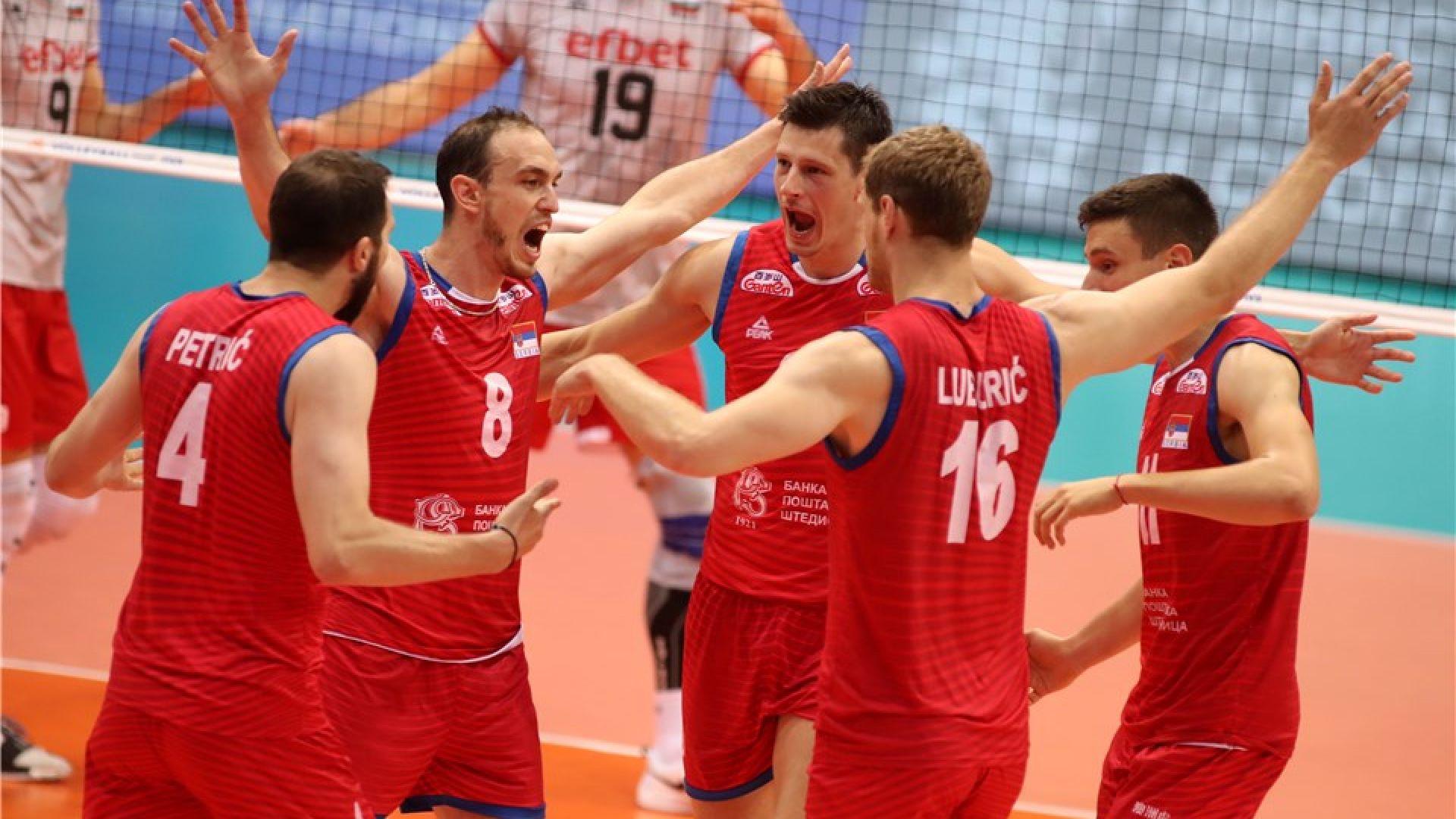 Сърбите не ни пощадиха за финал, взеха ни гейм на 12