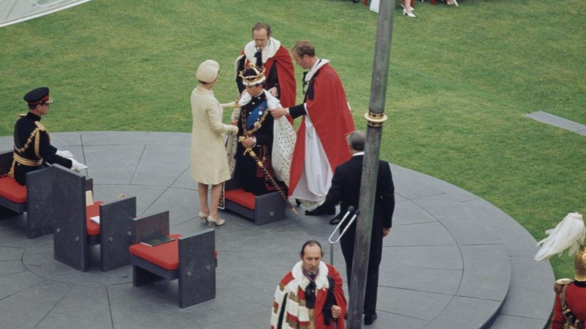 Чарлз става принц на Уелс преди 50 години на фона на протести и бомбени атентати