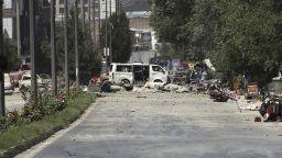 Талибаните поеха отговорност за кървавия атентат в Кабул: поне 34 загинали и 68 ранени
