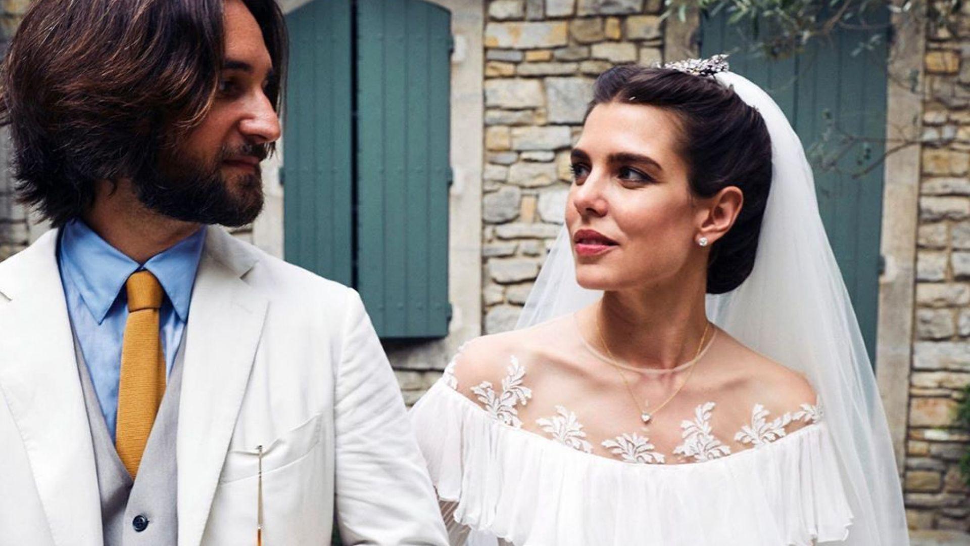 Шарлот Казираги и Димитри Расам с втора сватба във Франция