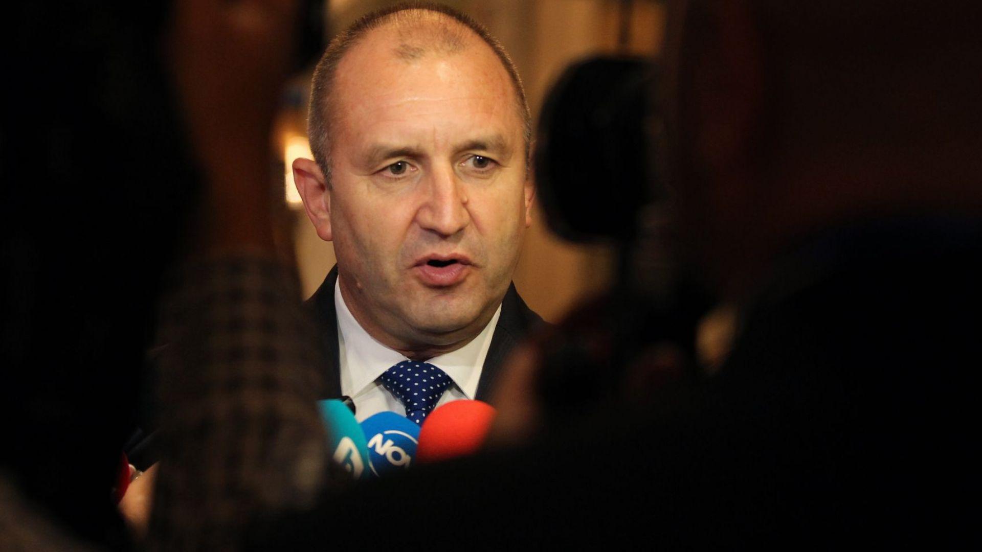 Румен Радев призова българите в САЩ да се върнат в България