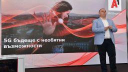 А1 с първата 5G базова станция в България