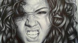 Художник създава уникални портрети с химикалка, каквато има всеки ученик
