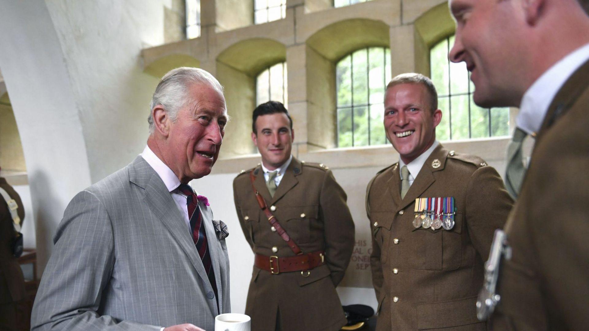 Принц Чарлз започна визитата си в  Уелс за годишнината