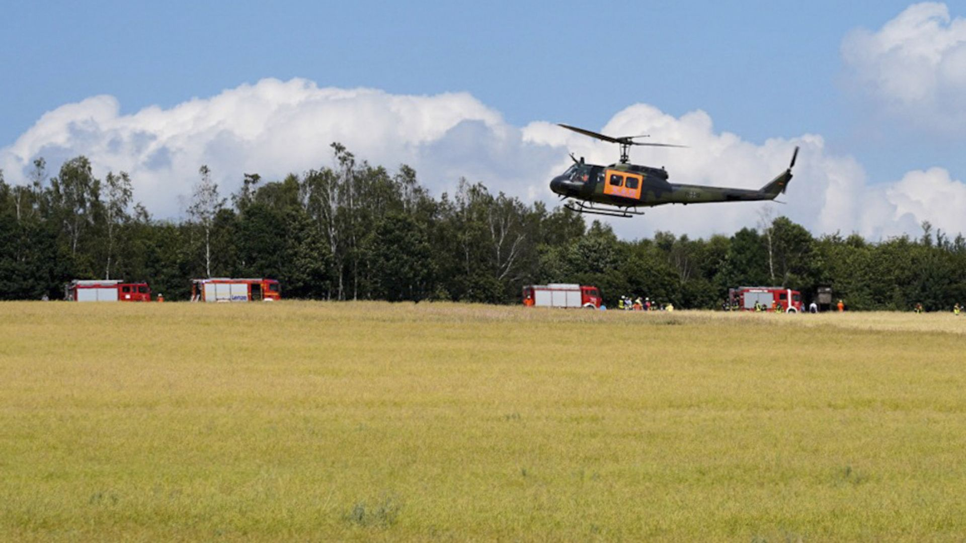 Жена пилот загина при падане на военен хеликоптер в Германия