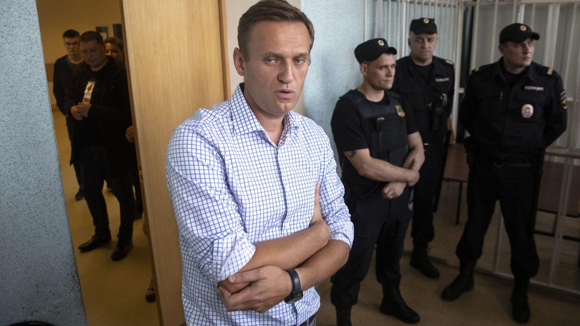 Токсикологичен анализ не откри следи от отравяне на Навални