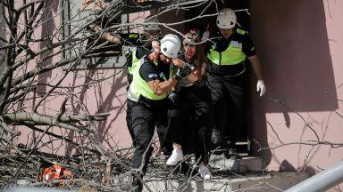 Мащабно учение: Спасяваха столичен квартал от разрушителна буря