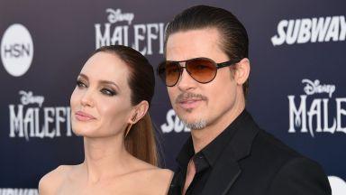 Какво правят Анджелина и Брад, далеч един от друг
