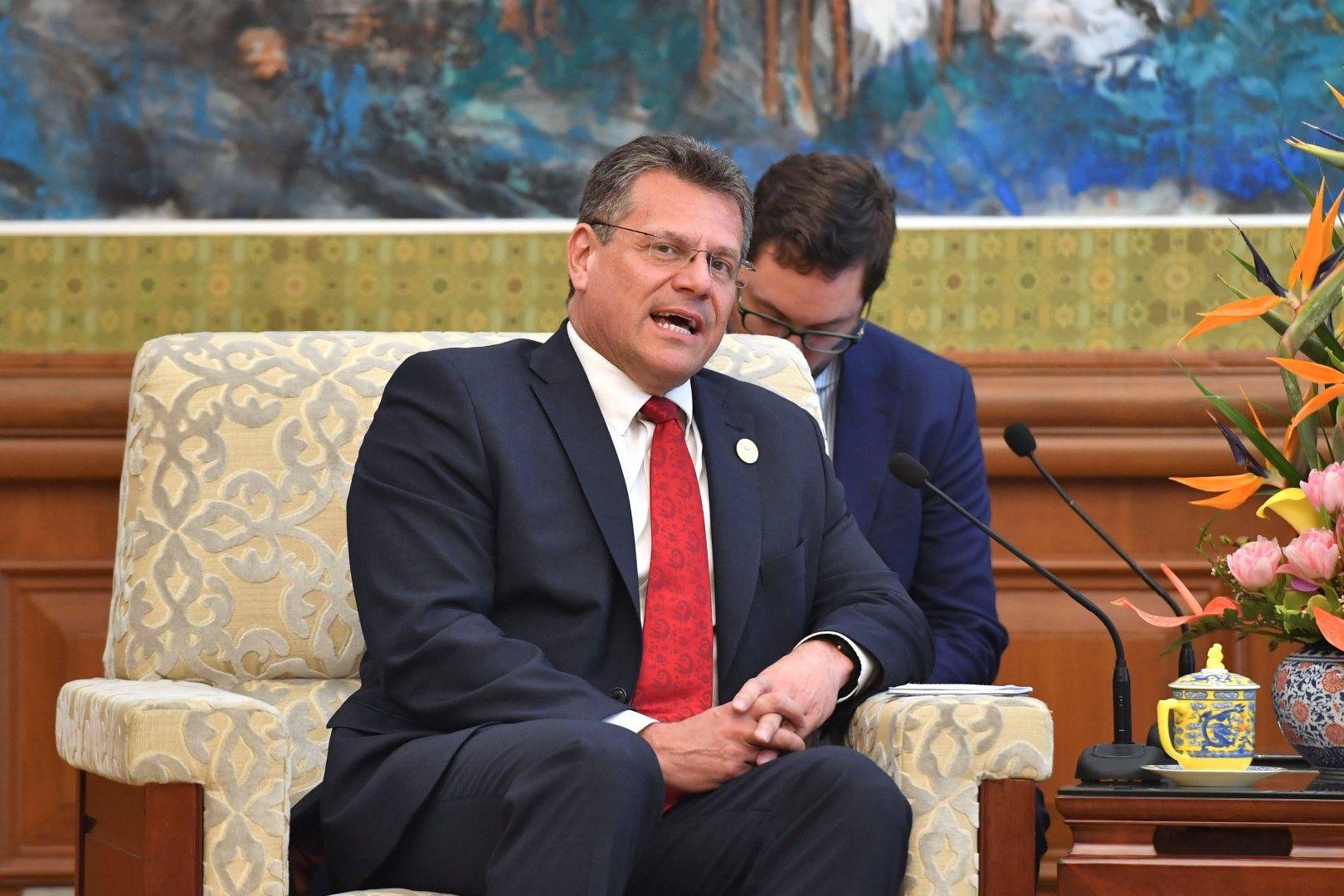 Марош Шефчович - сега заместник-председател на ЕК по енергийния съюз, а може да оглави европейската дипломация