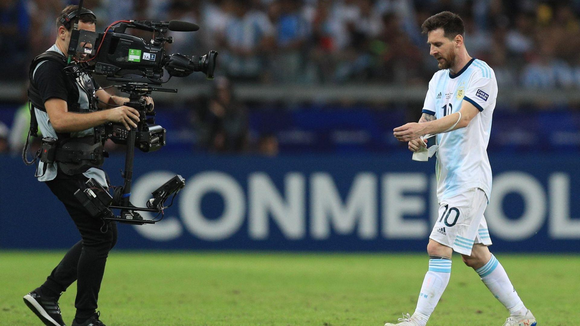Аржентина след загубата: Не се отказвай, Лео!