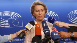 Урсула фон дер Лайен изрази надежда, че ЕП ще я утвърди на поста председател на ЕК