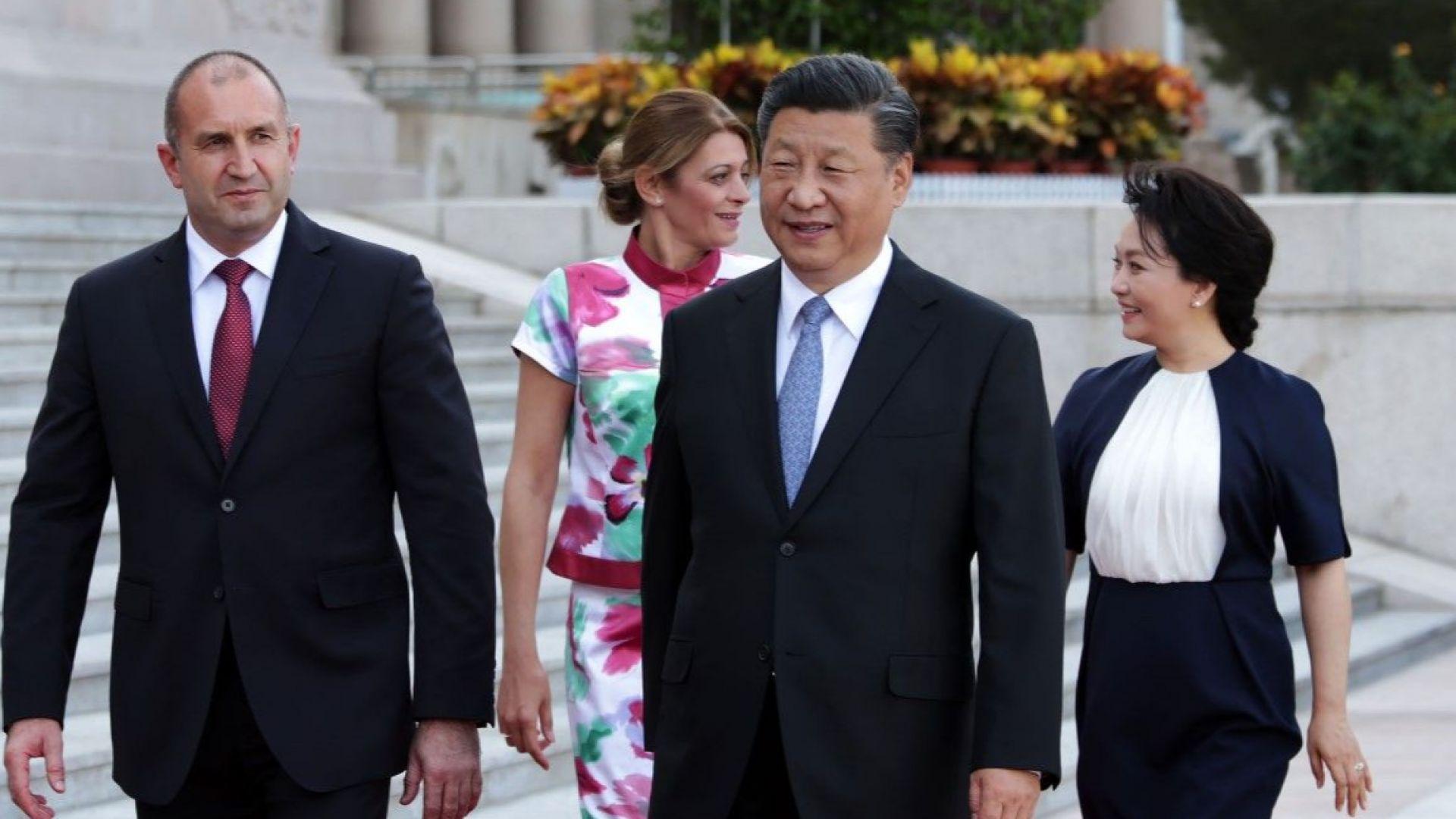 След срещата Радев - Си: България и Китай ще развиват стратегическо партньорство