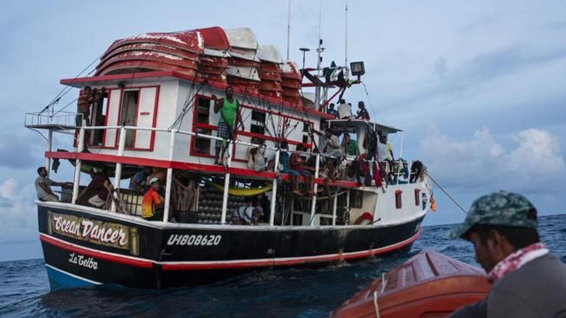 27 души загинаха при потъване на рибарски кораб край Хондурас