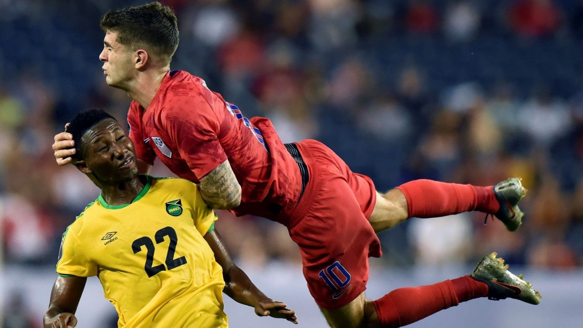 САЩ полетя към мечтан финал срещу Мексико