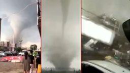 Опустошително торнадо удари Китай, има загинали (видео)