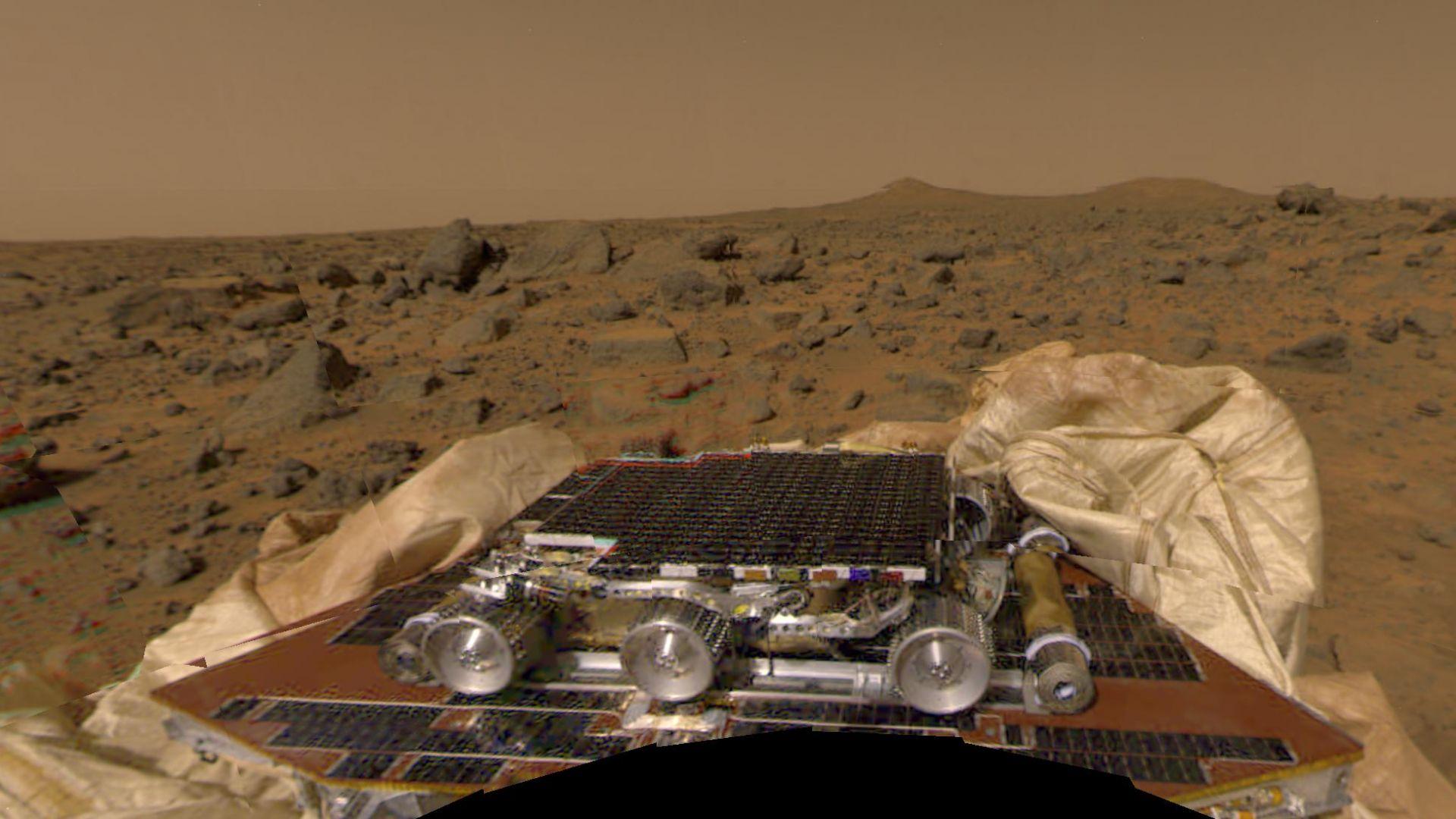 22 години от кацането на първия роувър на Марс