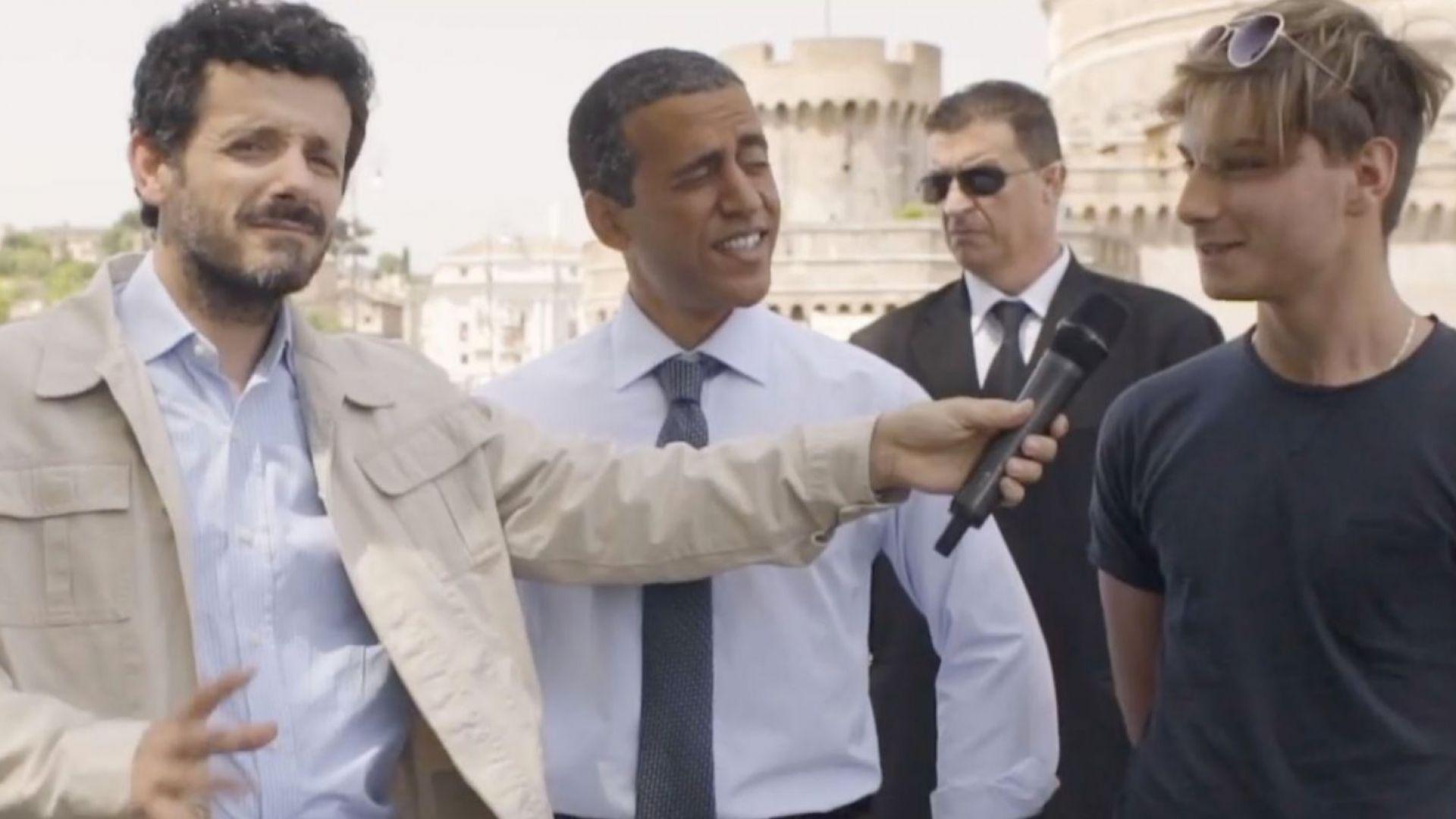 """""""Алиталия"""" изтегли рекламен клип с имитатор на Обама (видео)"""