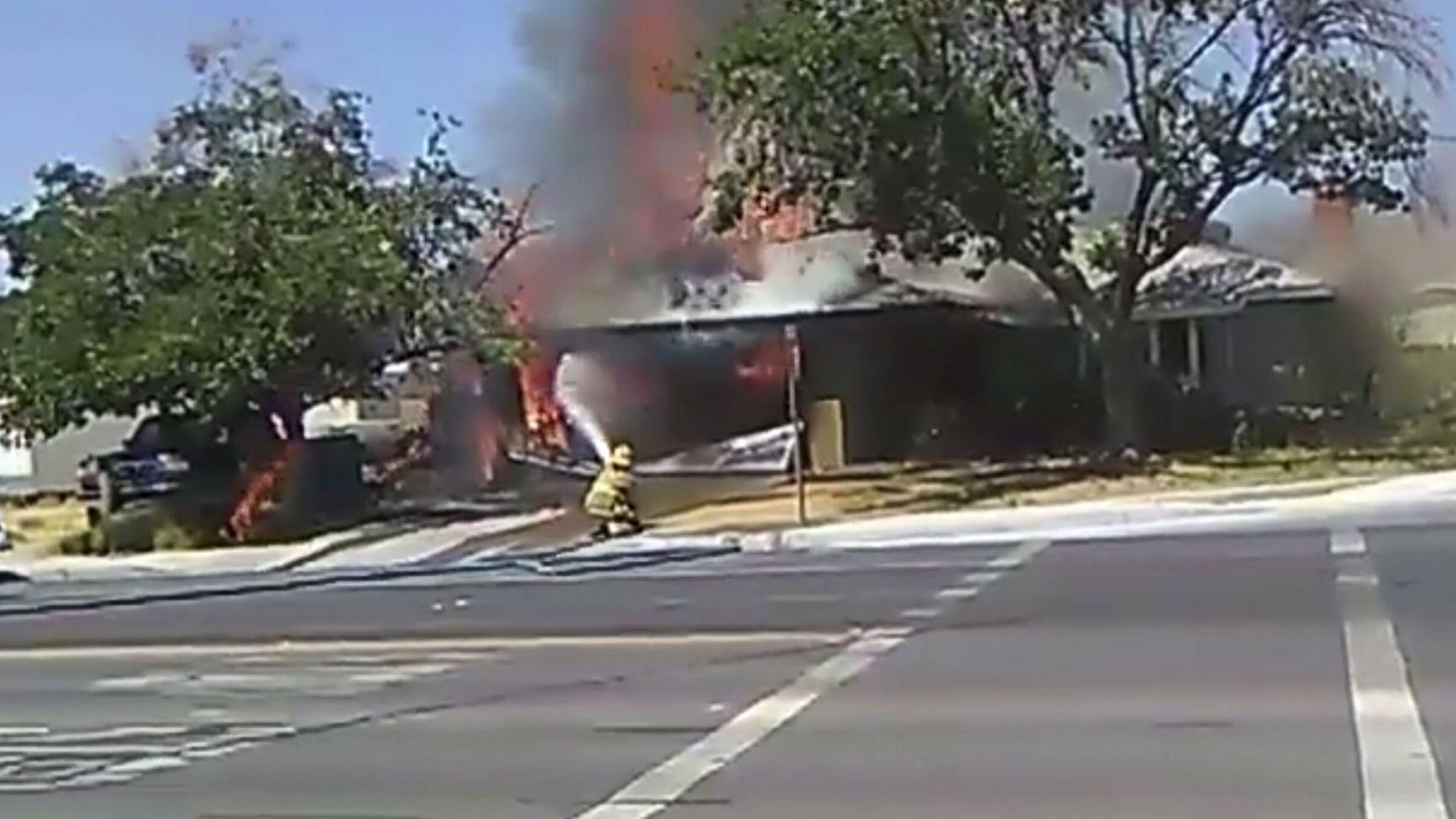 Извънредно положение след труса в Калифорния заради пожари, има ранени (снимки)