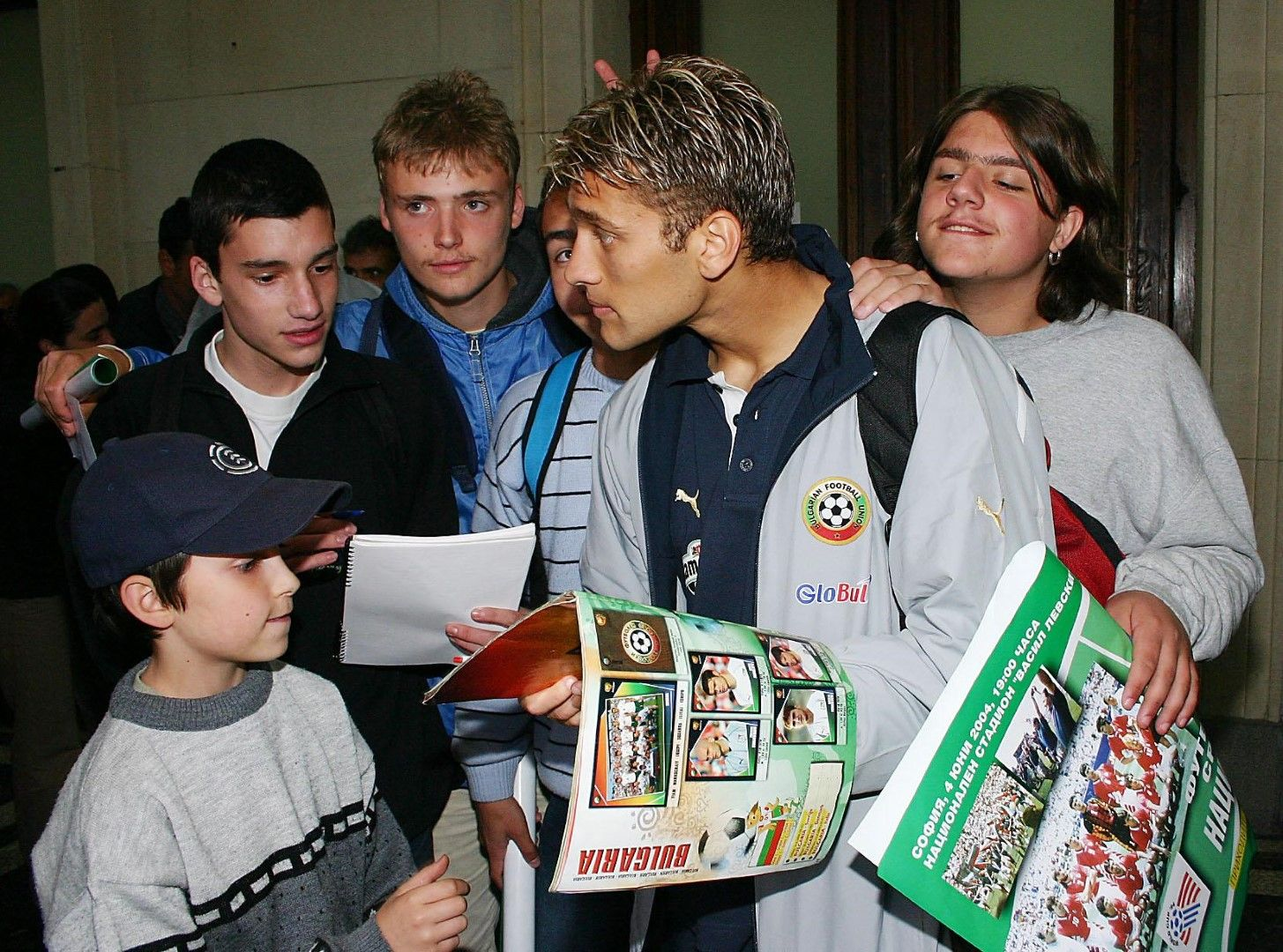 През 2003-а бе избран за Футболист №1 на България