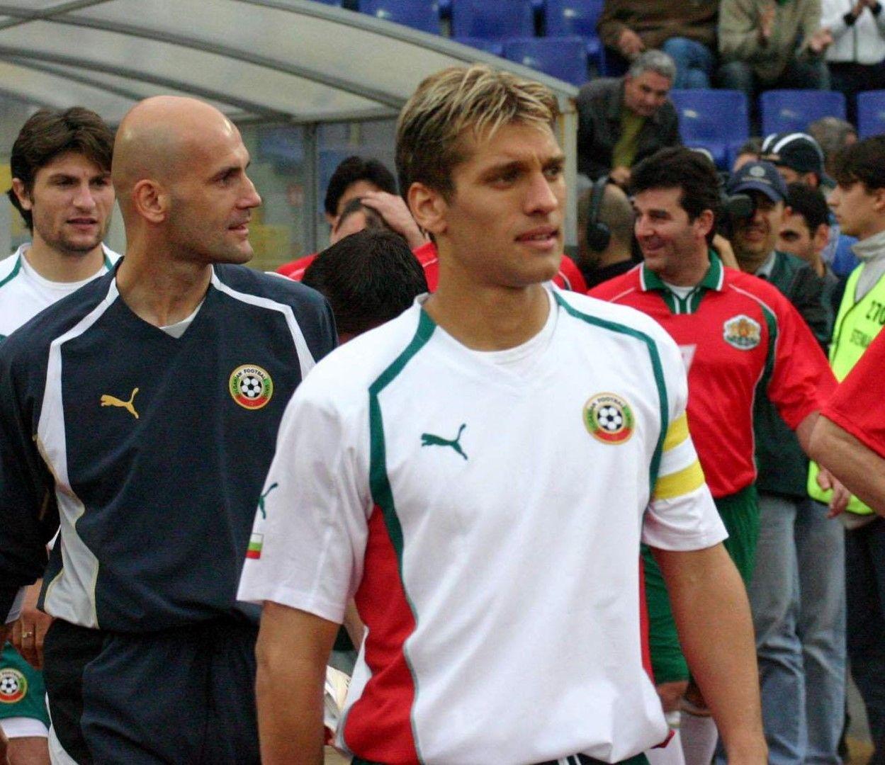 Стилиян бе капитан по време на Евро 2004