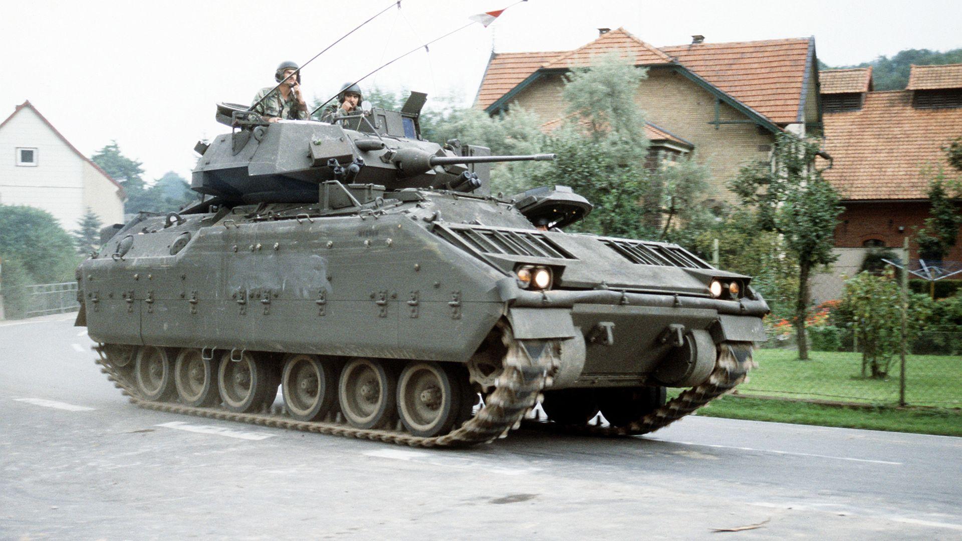 Бронирана бойна машина M2 Bradley