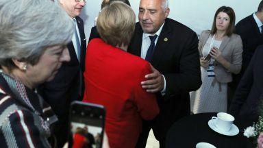 Бойко Борисов и Ангела Меркел си благодариха взаимно за сътрудничеството през годините