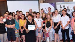 Завърши академията за млади таланти Growing Talents на Samsung България