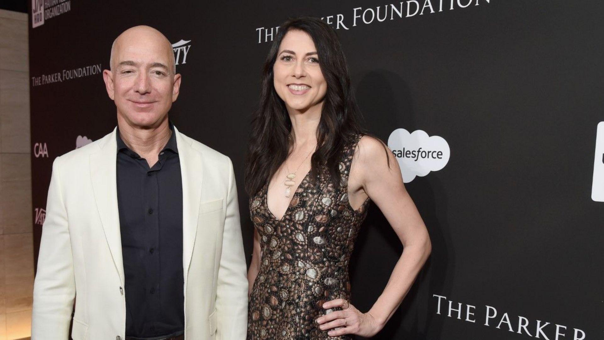 Най-богатият човек - Джеф Безос, вече е ерген, съпругата му получава $38 млрд. след развода