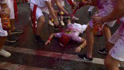 Фестивалът Сан Фермин  започна - 9 дни надбягване с бикове и пиршества (снимки)
