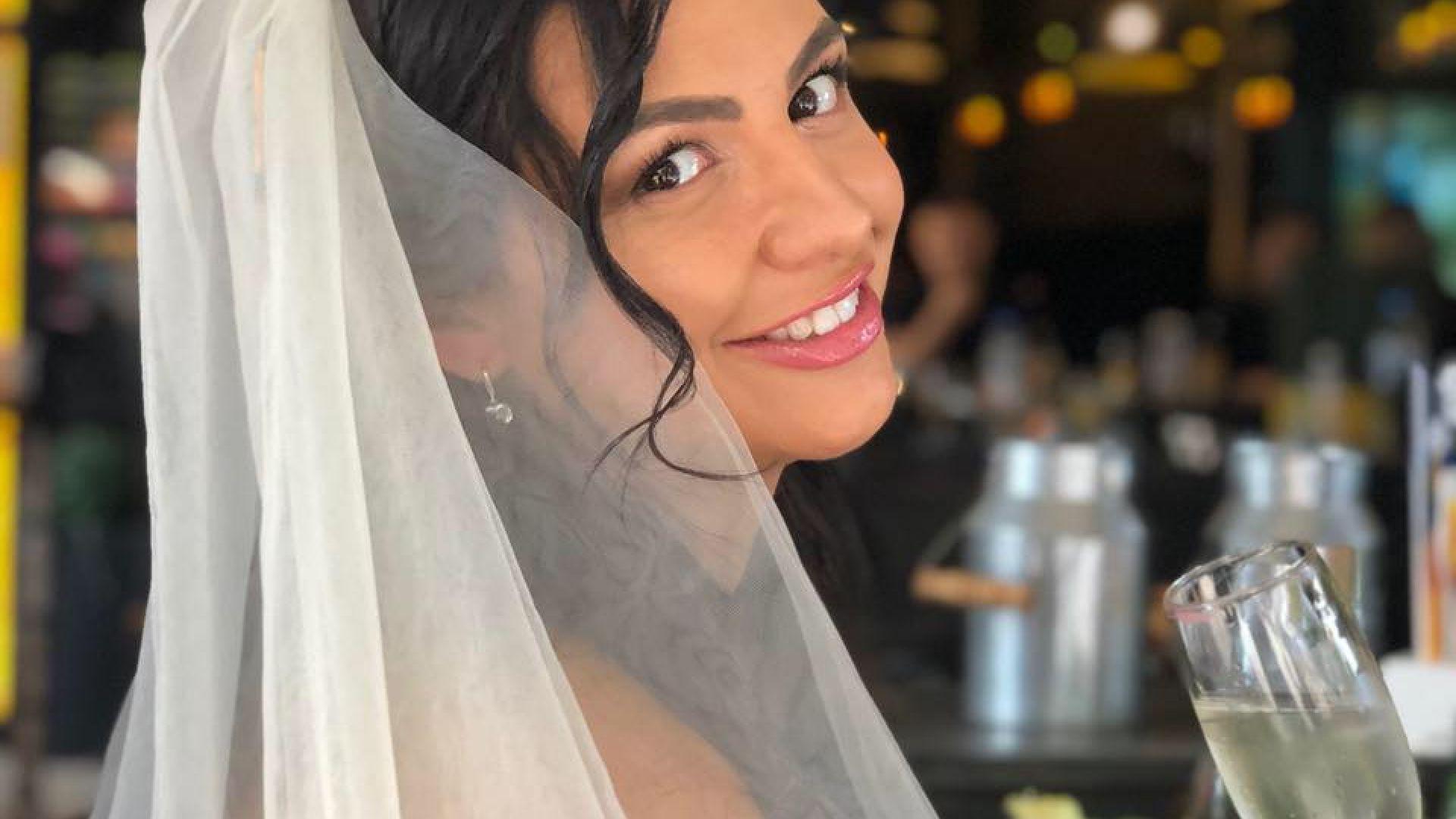 Бременната Деси Цонева се омъжи за втори път