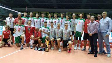 Младите ни волейболисти спечелиха Балканиадата