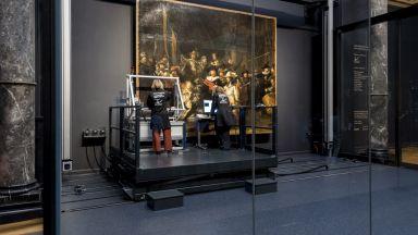 """Всеки може да гледа реставрацията на """"Нощна стража"""" от Рембранд"""