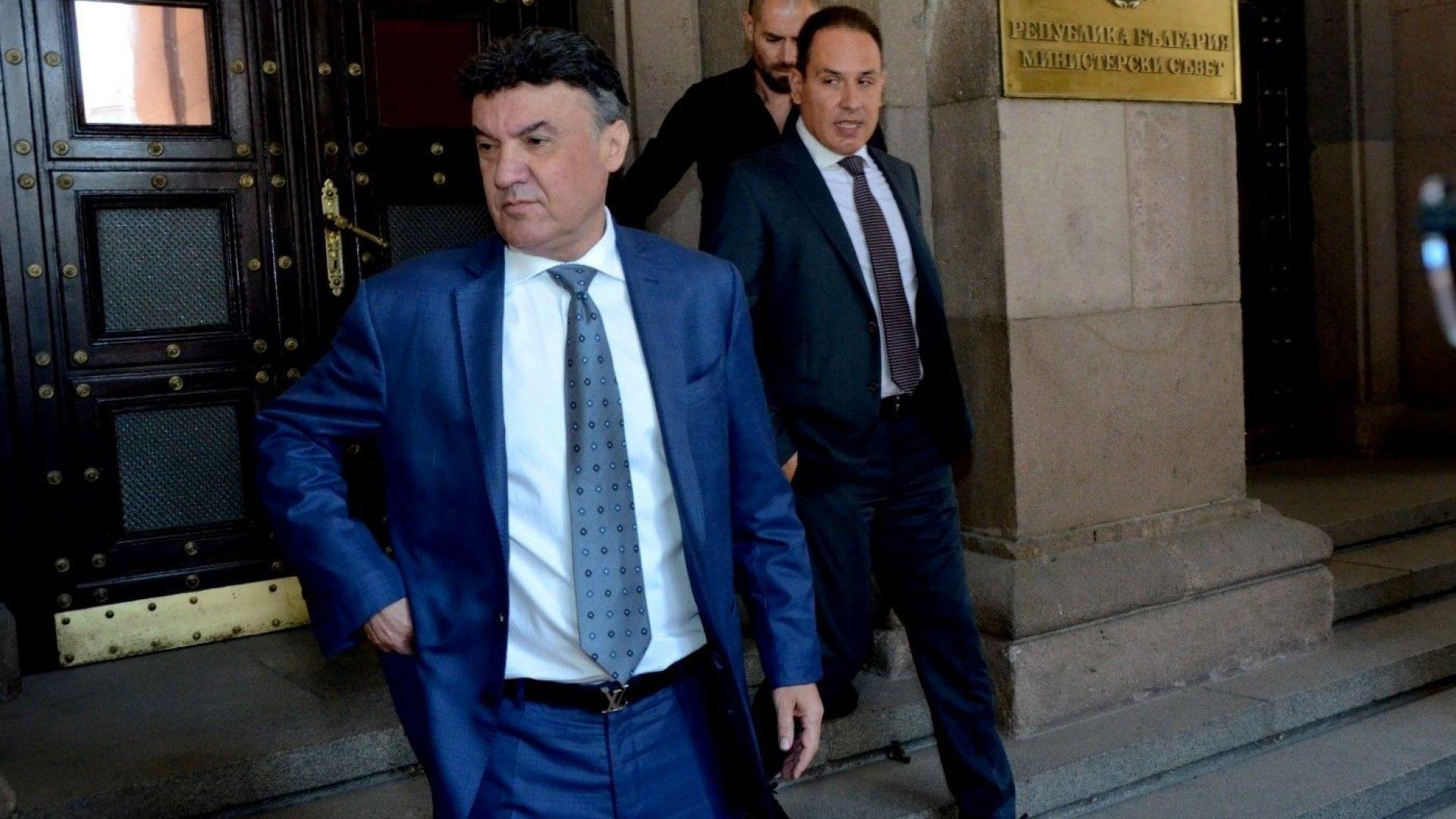 Борислав Михайлов подаде оставка