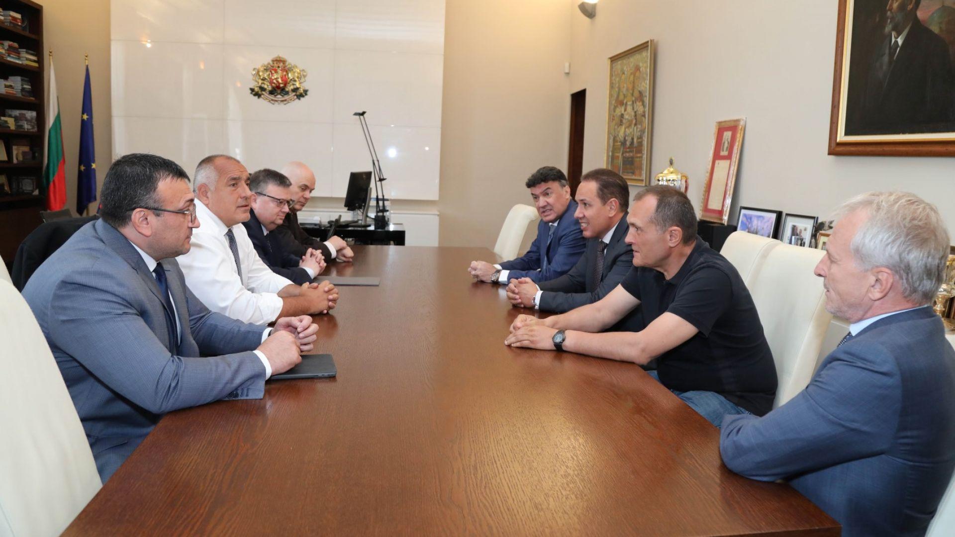 Борисов след срещата с футболните босове: Могат веднага да ни дадат Суперкупата на Европа