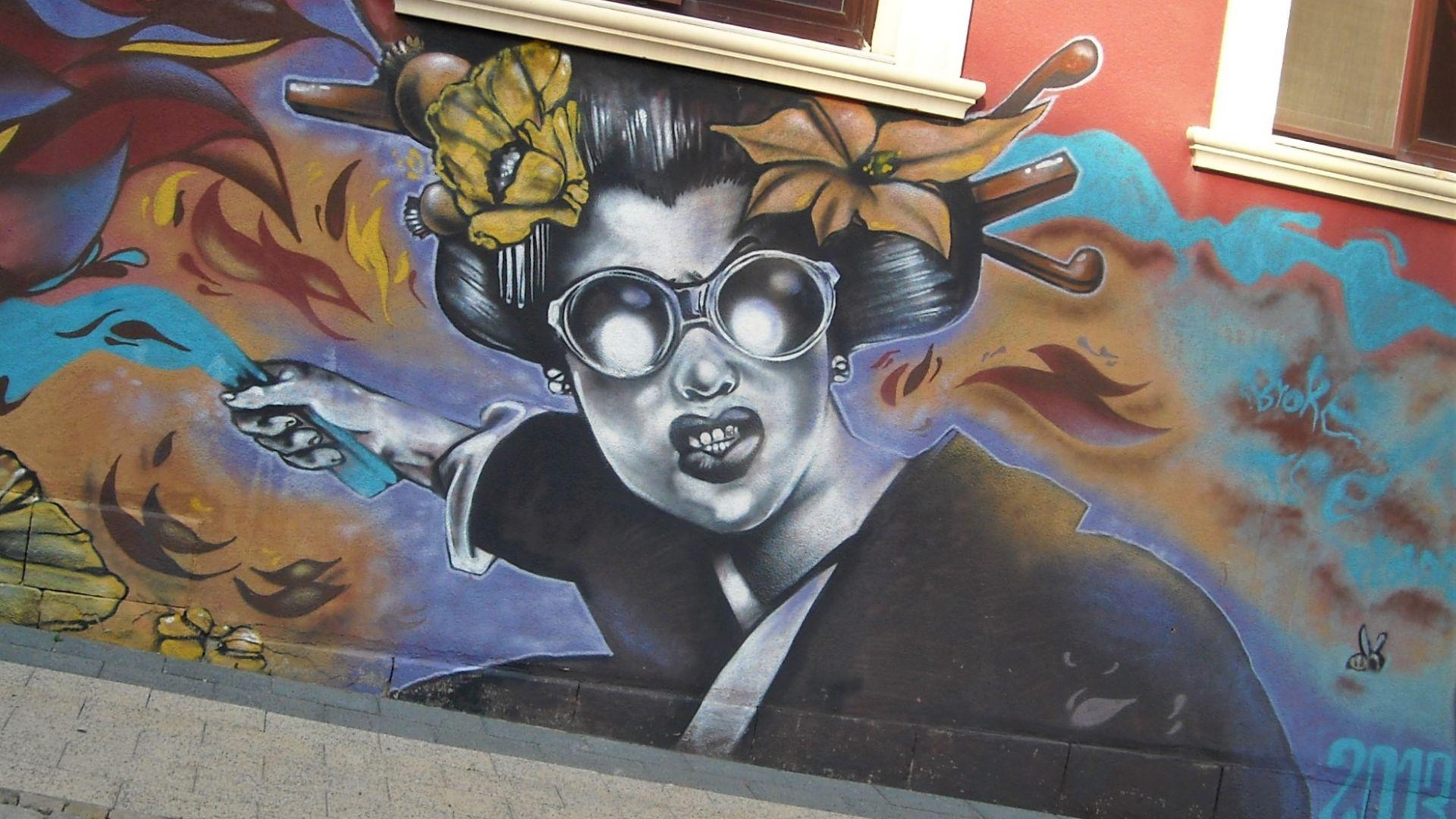 """Графитите на улица """"Найден Геров"""""""