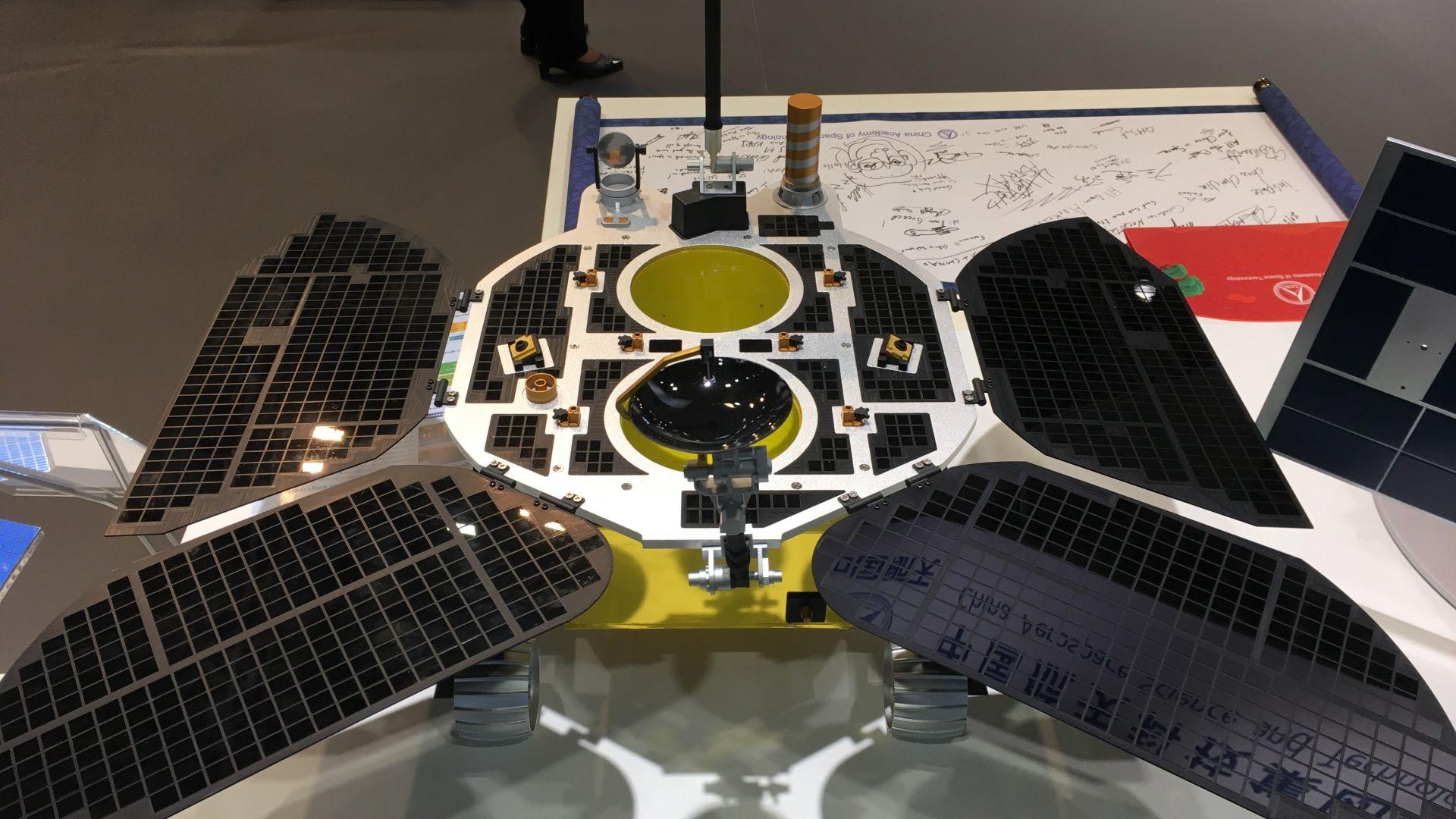 Първия китайски марсоход e готов за изстрелване