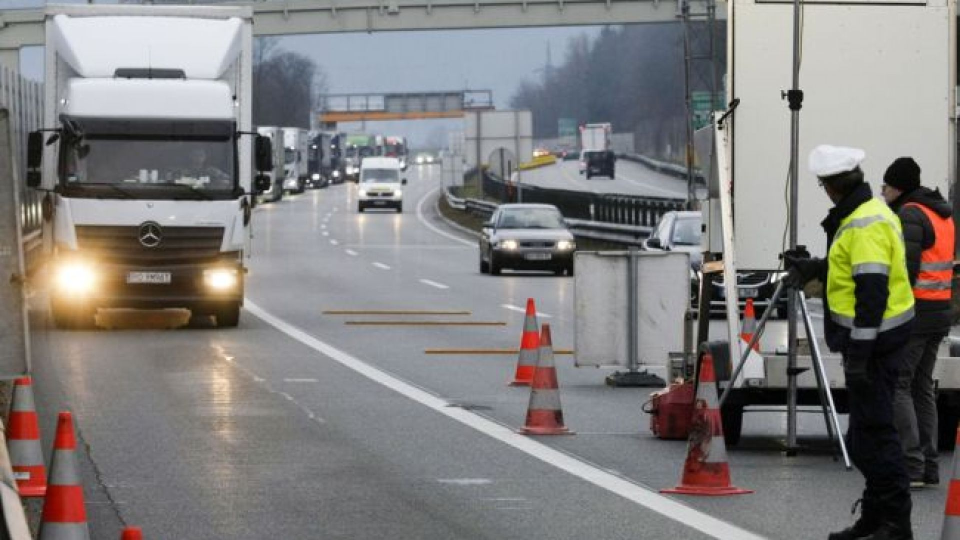 Турските власти освобождават от карантина българските шофьори на камиони