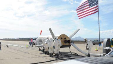 Любител-астроном засне секретна военна совалка в орбита