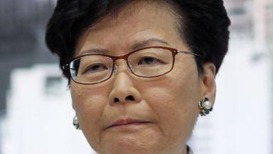 """Лидерът на Хонконг: Законопроектът за екстрадация е """"мъртъв"""", беше грешка"""