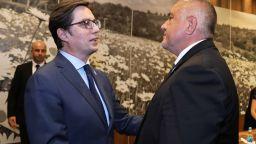 Борисов благодари на Пендаровски за Гоце Делчев, с Додик дискутира икономическото сътрудничество