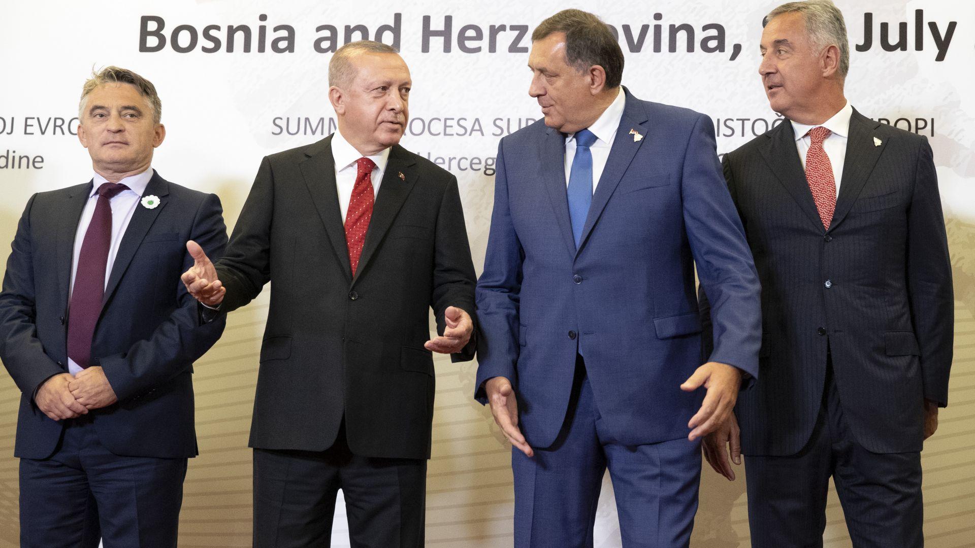 Ердоган поиска от Босна 8 гюленисти