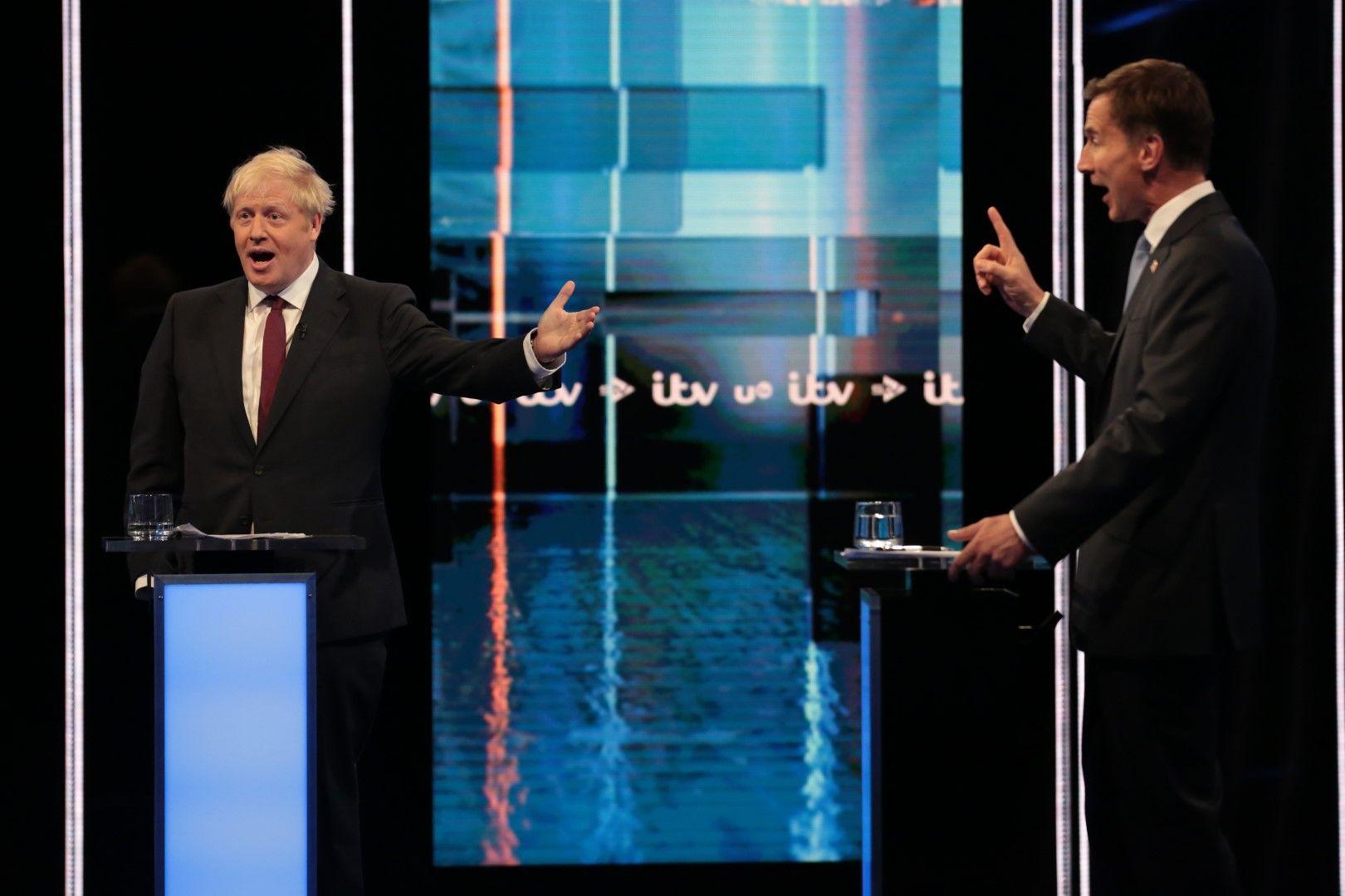Двамата спориха най-много за това ще напусне ли Великобритания ЕС на 31 октомври