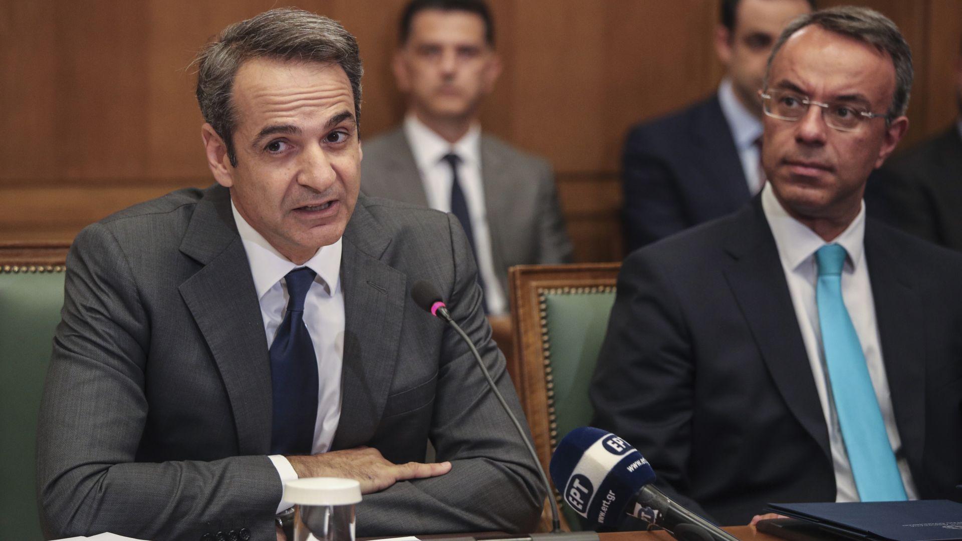 Гръцкият премиер Кириакос Мицотакис призова Германия и другите държави от