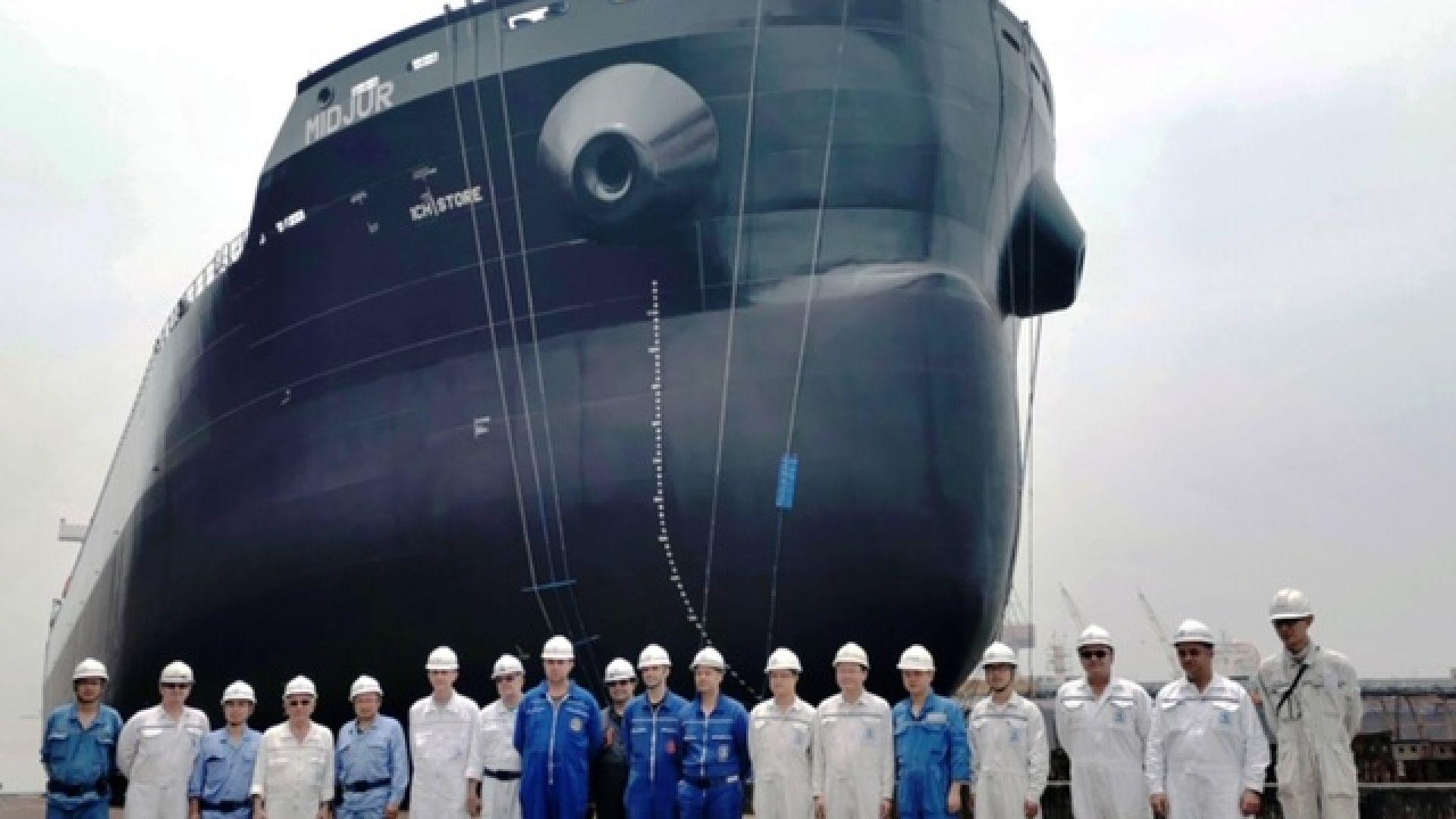 БМФ с втори 45000-тонен кораб от китайска корабостроителница
