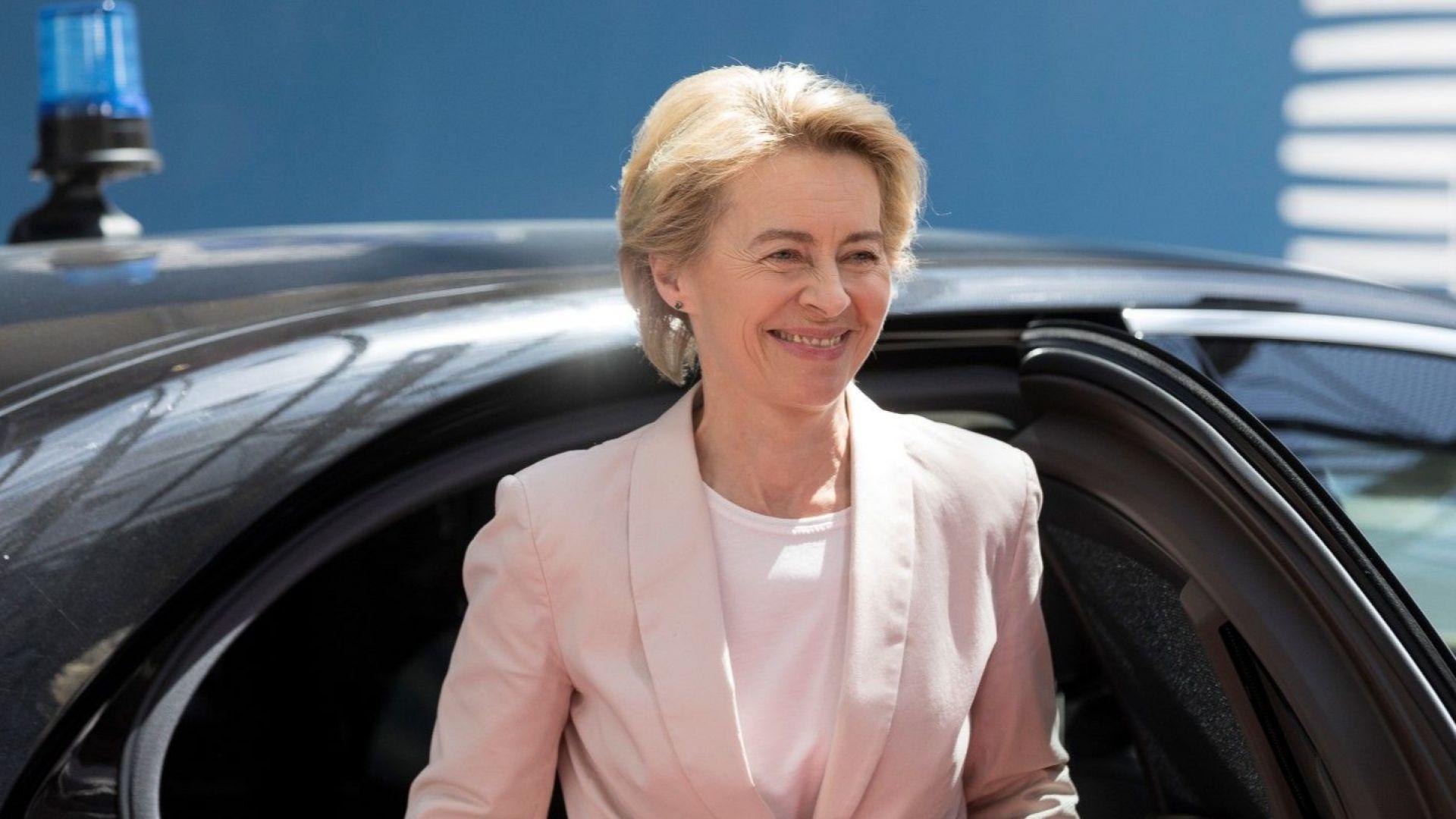 Урсула фон дер Лайен: Утре влизам в битката за ЕК, подавам оставка като военен министър в сряда