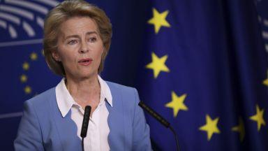 Урсула фон дер Лайен: Северна Македония e добър пример